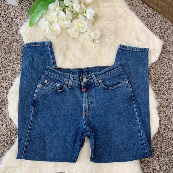 Capri Jean 0 Ankle Rl Size Jeans Zip Polo EbDYe2WHI9